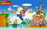 30 Years of Super Mario Bros. by WhiteLionWarrior