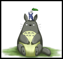 Totoro by Tinnypants