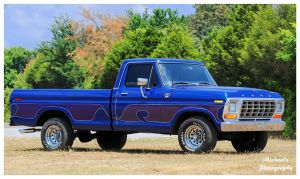 A  Ford F 100 Truck by TheMan268