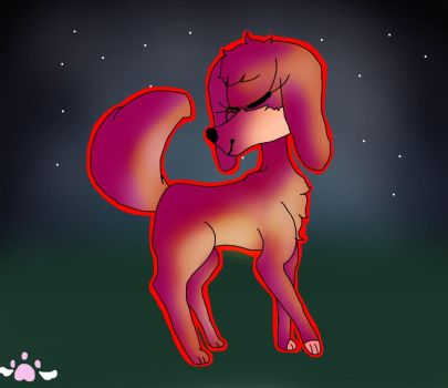 THIS DOGE IS ON FIRE by sunnythefoxy