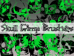 Skull Gimp Brushes by MaxPowersXx