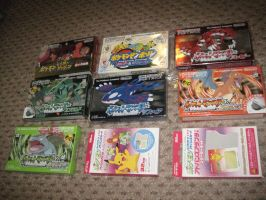 Every Japanese Pokemon Gameboy Advance (GBA) Game by EdensElite