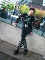 pretty goth boy otakon 2012 by carblecca