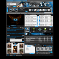Gaming Webdesign - SOLD by Techmaster05