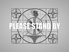 Please Stand By by Inkwell-Pony