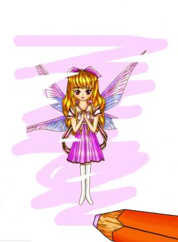 My fairy by Wophie