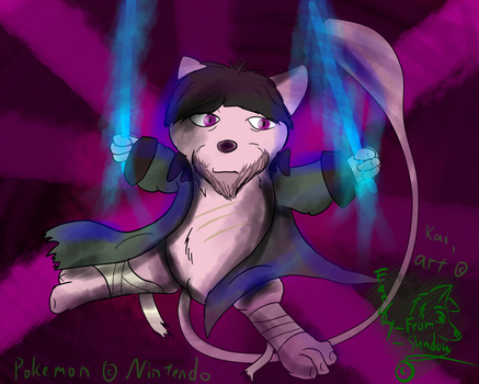 Kai As Mew by Fangy-From-Shadow