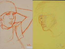 5 Minute Life Drawings by TheArtHobo