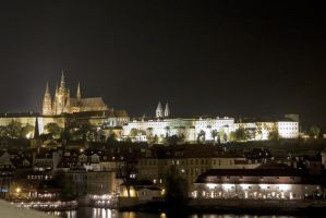Prague by Night II by Hexaloner