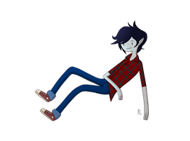 Marshall Lee the Vampire King by EnyaAdiemus