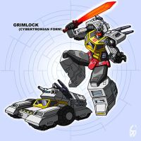 Grimlock - Pre-Earth style by fourth-heir