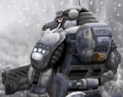 Guinea Pig Snow Soldier 2 by Skihaas1