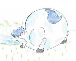 Water Horse Bloat Rainia by Virus-20