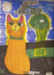 The Cat From Outer Space by Desart