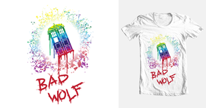 Bad Wolf tee design by johnnygreek989