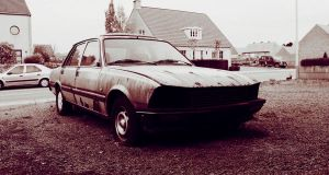 Old Peugeot by Atozy