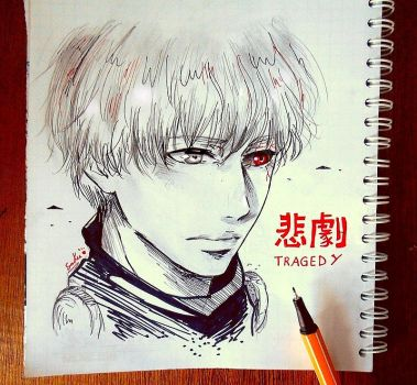 Kaneki Ken by sakura-streetfighter