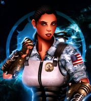 MKX: Jacqui Briggs [Low-Res Update] by JassyCoCo