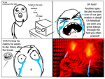 Rage comic: Meatloaf by Daz-Keaty