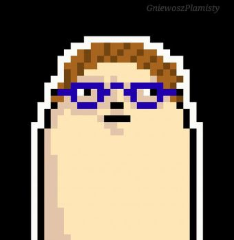 Pixel Me- new profile pic (Getting into pixelart) by GniewoszPlamisty