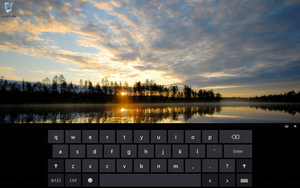 Touch keyboard by MspnDev