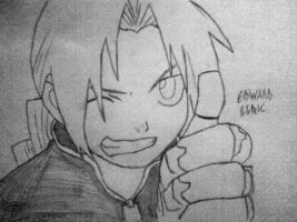 Edward ELric by Mousaklas