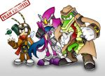 SLegends Contest- Team Chaotix by silveramysaurus07