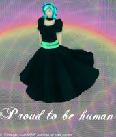Proud to be human by Carolynzy6125andBSP