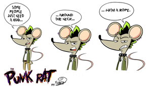 Punk Rat- A Rope by chillyfranco