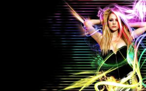 Avril Lavigne Wallpaper 3 by Golf-Punk