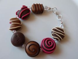Chocolate bracelet by amalie2
