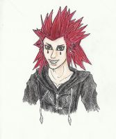 Axel by thedarkartistgirl