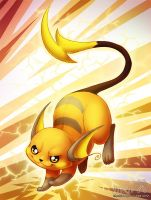 Raichu - Day 4 by ShinePawArt