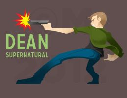 SPN: Dean Winchester by Addicted2Kura
