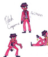 Oc Project, Patch Capone (The Red Spy) by Alex21346587
