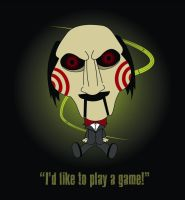 I'd Like To Play A Game by oneeyedpauly