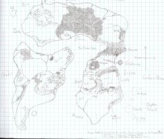 Map of Erion by StarRaven