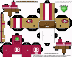 Jerry Rice Cubee by 1madhatter