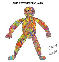 The Psychedelic Man 2014 by celamowari