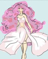 Rose Quartz WIP by koeichi