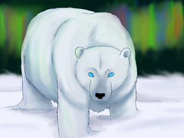 Snow Bear by Fae-Puppy