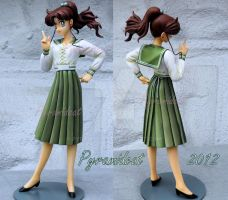 Sailor Moon Makoto School uniform Garage kit by Pyramidcat