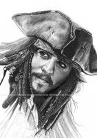 Captain Jack Sparrow by lupinemagic