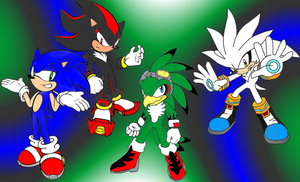 Sonic Shadow Jet and Silver RQ by Mephilez