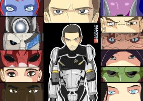 Mass Effect 2 by TheFresco