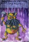 Goatman is indifferent ... by Godcharon