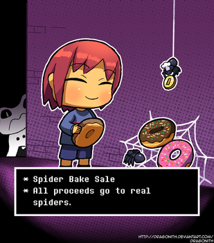 Random - Spider Bake Sale (Undertale) by Dragonith