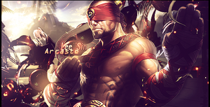 Lee Sin - League of Legends Sig by Arcaste