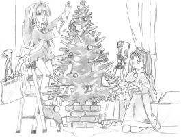 Merry christmas by Spades00cl