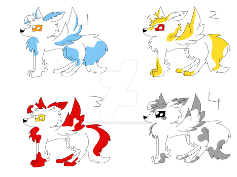 Free Common Mythical Fox Adopts(CLOSED) by DarkTheExcadrill